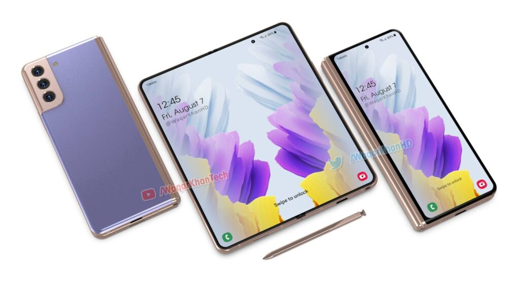 Samsung Galaxy Z Fold 3 Gets a Stylus, S21 Camera and More (Video)