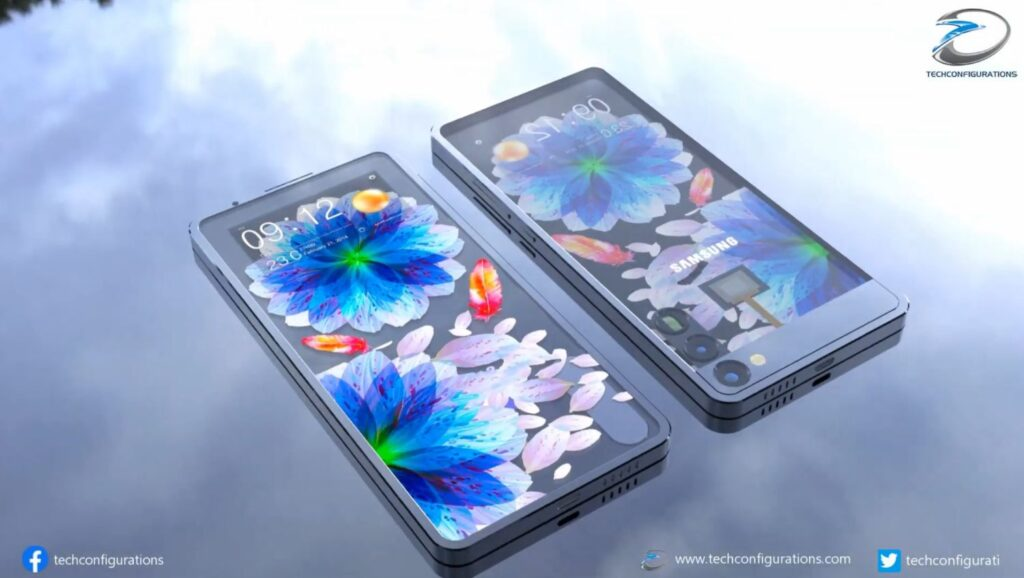 Samsung Transparent Phone Design Brings Solar Charging too