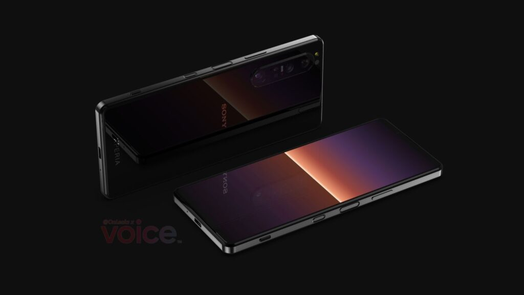 Sony Xperia 1 III Gets First Renders, Gets Periscope Telephoto Camera