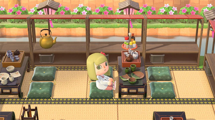 Japanese Restaurant Space in New Horizons