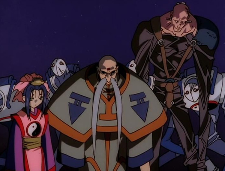 Kei Pirate Guild in Outlaw Star