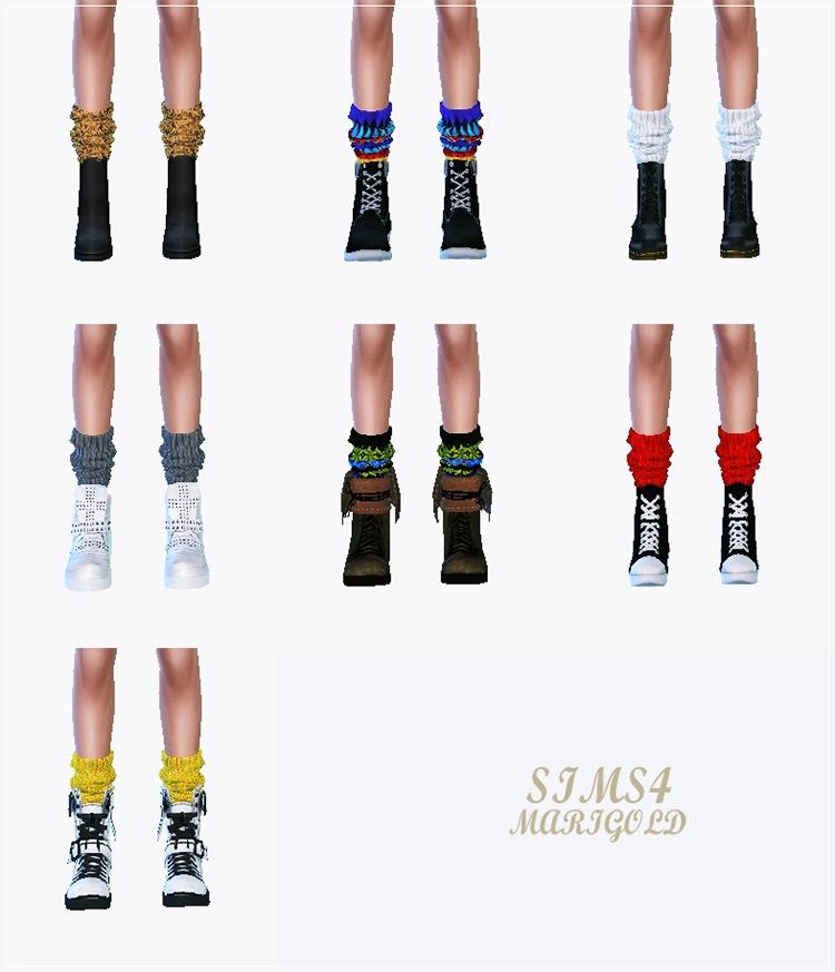 Knit Loose Socks by Sims4 Marigold screenshot