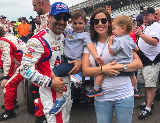 Lauren Bohlander and her family