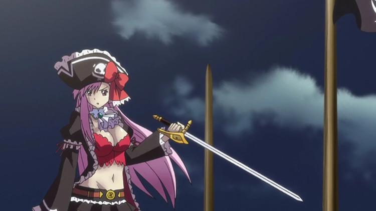 Liliana in Queen's Blade: Rebellion anime