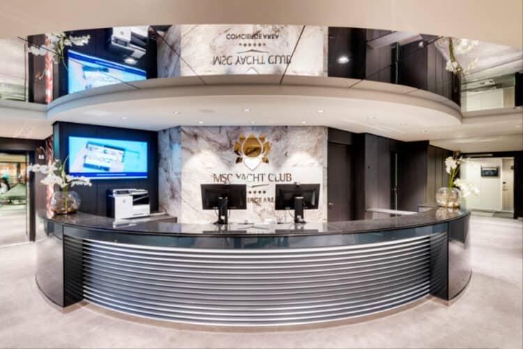 MSC Yacht Club Concierge