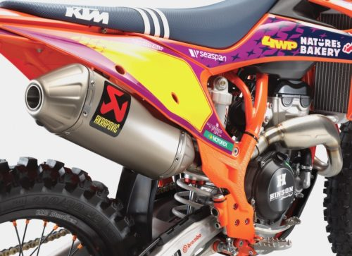 MX bikes mods - performace exhaust systems