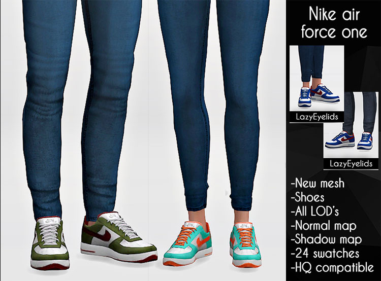 Nike Air Force One Sneakers CC - TS4