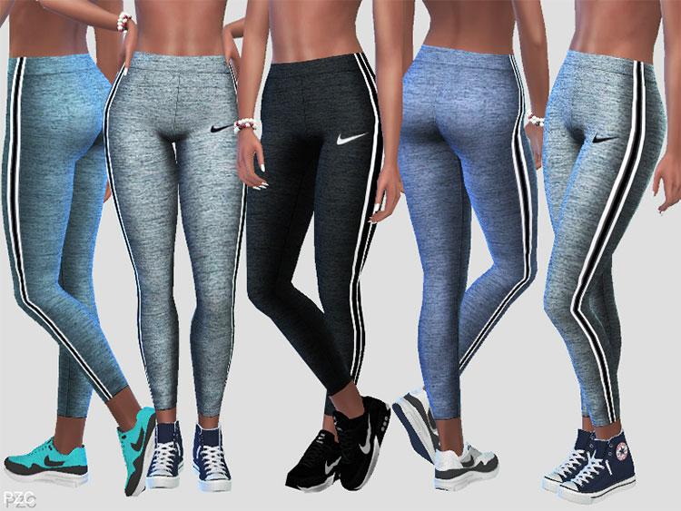 Nike Power Leggings CC for The Sims 4