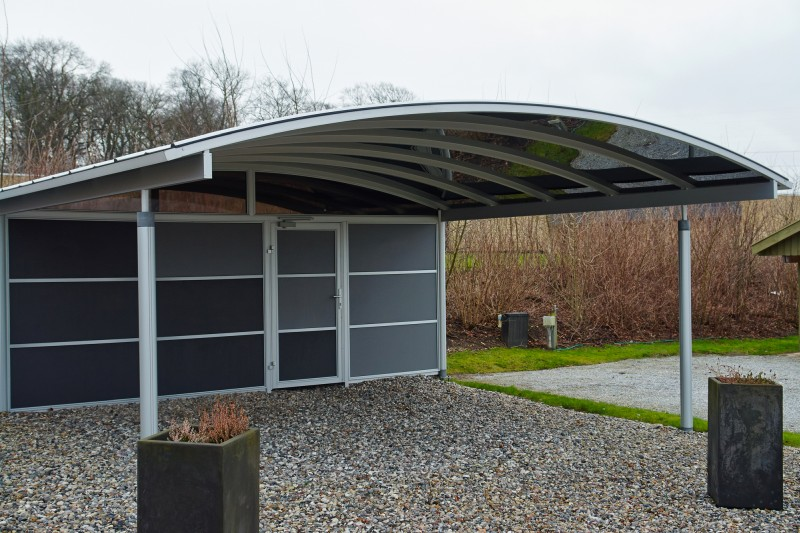 open carport from the sites