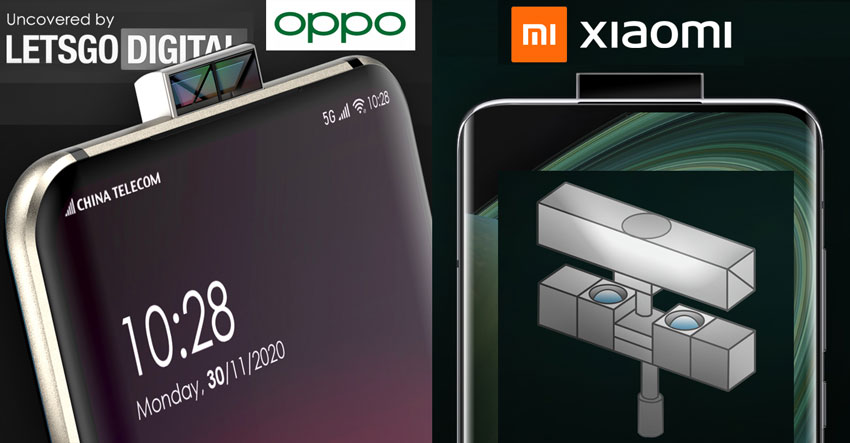 OPPO Xiaomi Double Sided Pop-up Camera