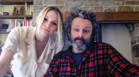 Picture Shows: Anna Lundberg, Michael Sheen -