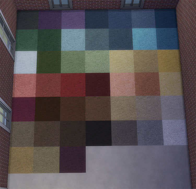 Plush Comfort Carpet Recolors - TS4