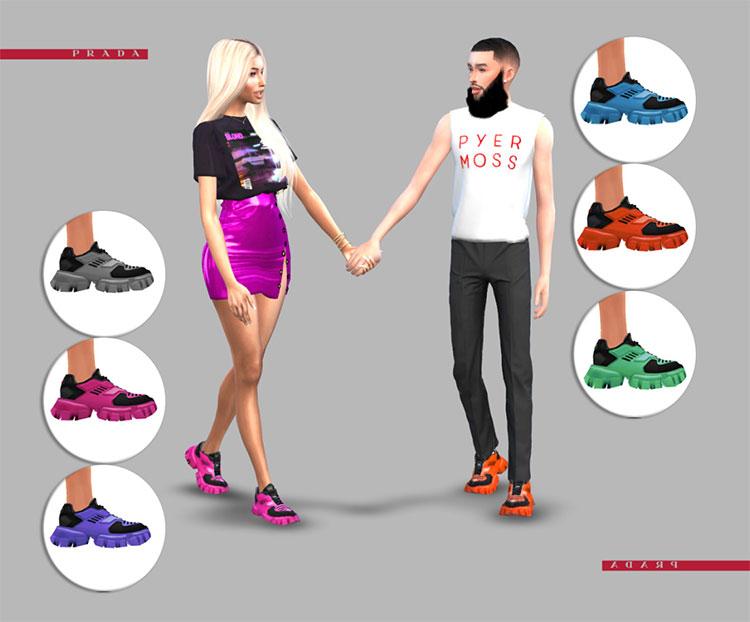 Prada Cloudburst Sneakers CC - TS4