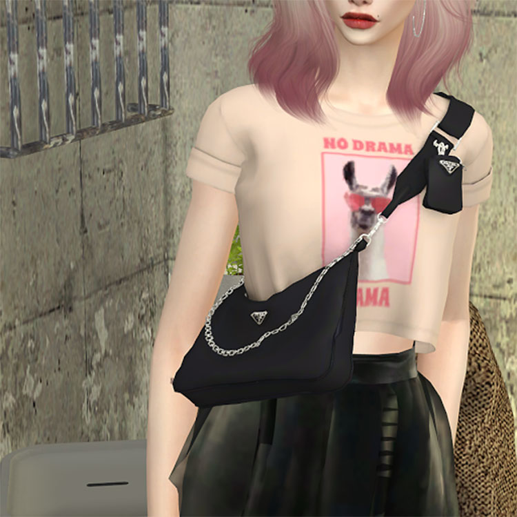 Prada Hobo Bag Design - TS4 CC