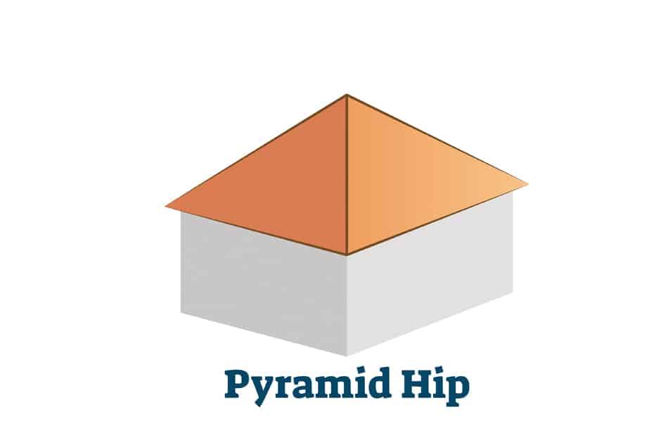 Pyramid Hip Roof
