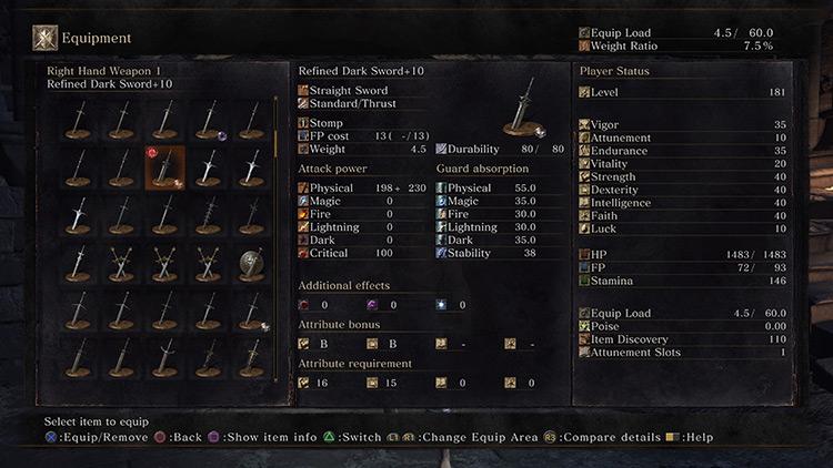 Refined from Dark Souls 3