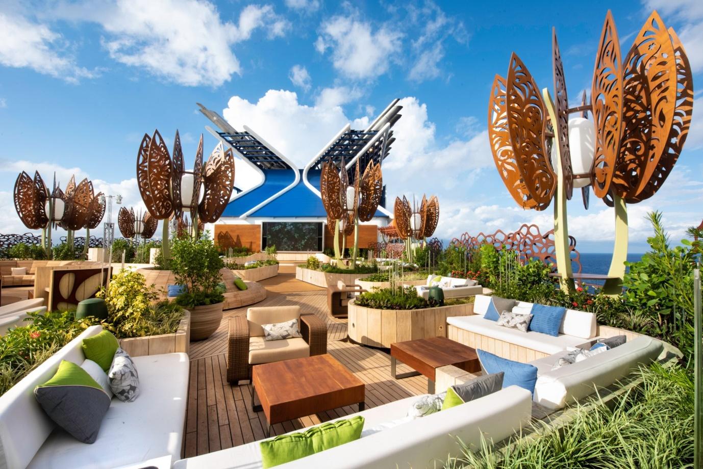 rooftop garden celebrity edge