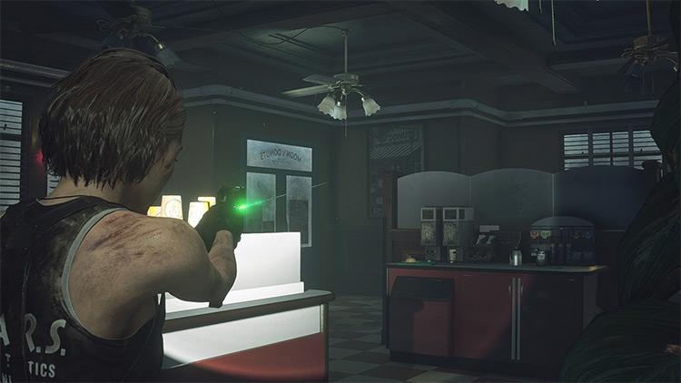 Samurai Edge Custom in Resident Evil 3 Remake