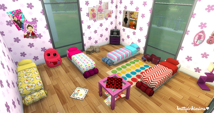 Sleepover Stuff Pack for The Sims 4