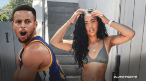 Stephen Curry Ayesha Curry Warriors