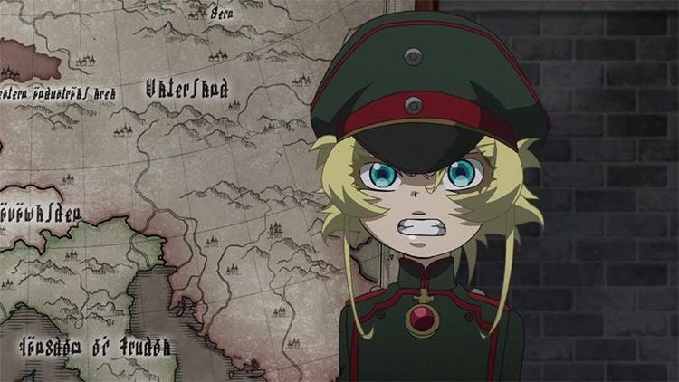 Tanya Degurechaff from The Saga of Tanya the Evil anime