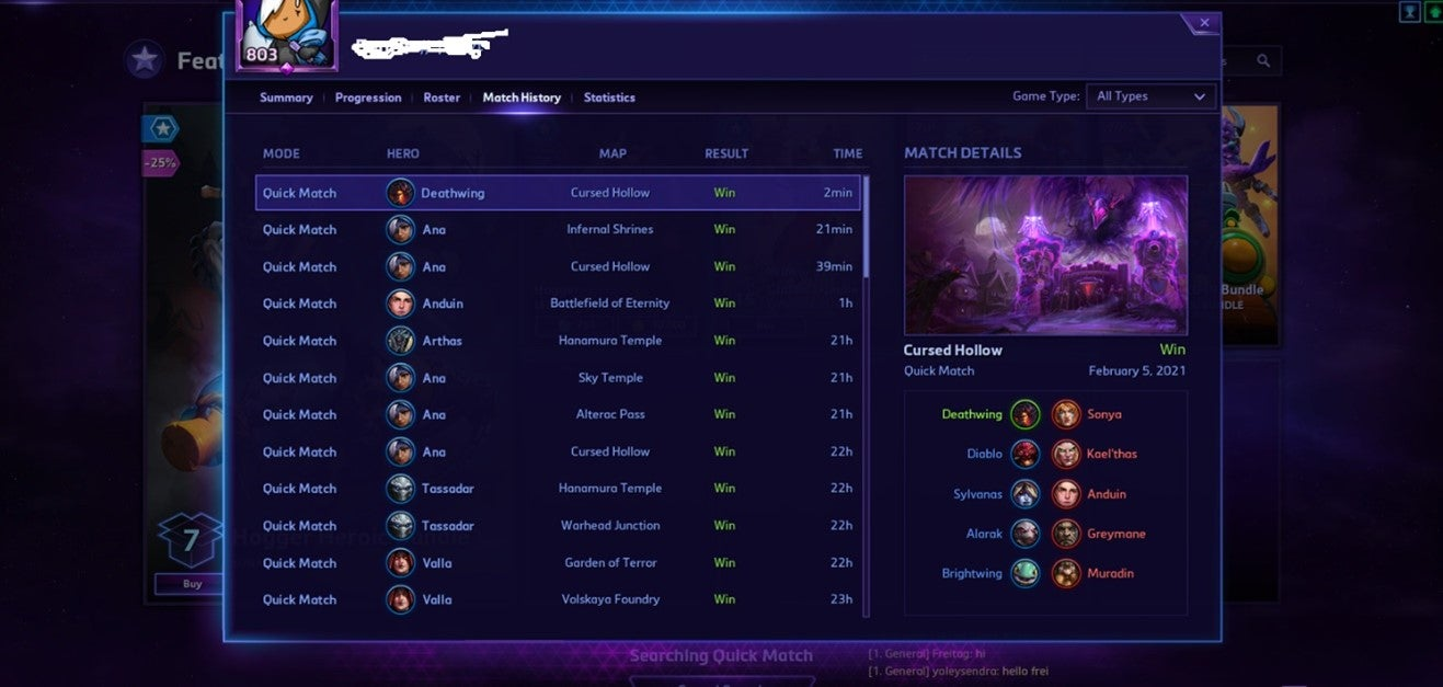 thlxfdtdlnf61 - These pictures will show you the pathetic state of quickmatch and why the game is dying