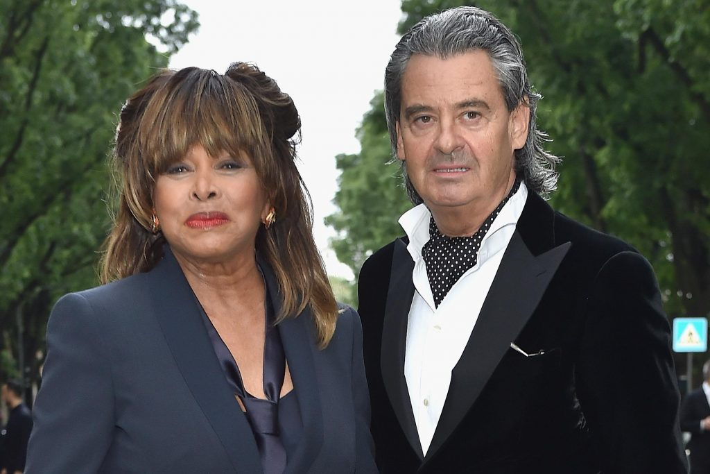 Tina Turner With husband Erwin Bach