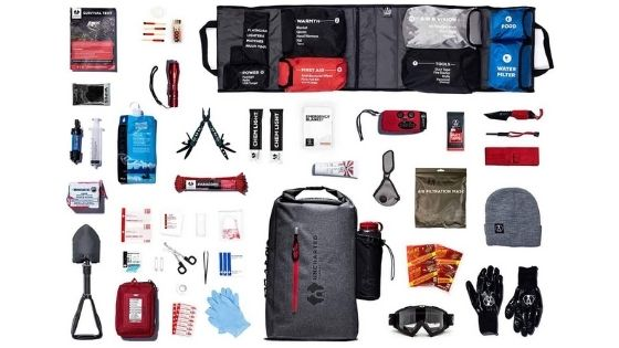 Uncharted Bug Out Bag Contents
