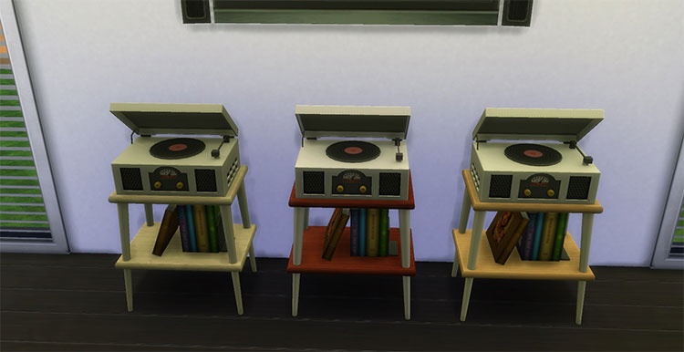 Vinyl Stereo Record Player - TS4 CC
