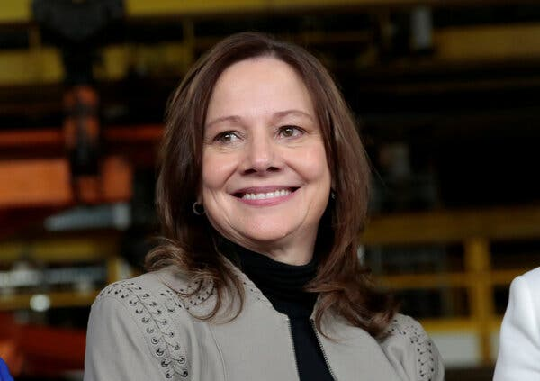 """""""We don't have any plans to invest in Bitcoin, so full stop there,"""" said Mary Barra, the General Motors chief executive."""