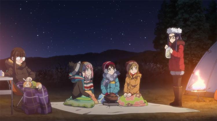 Yuru Camp anime