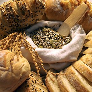 carbohydrate in bread