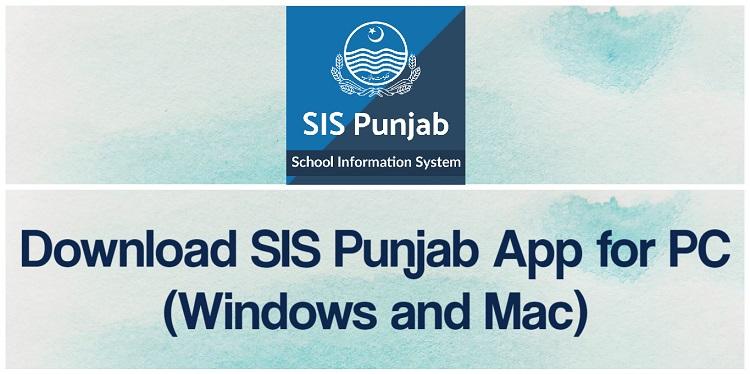SIS Punjab App For PC (2021)