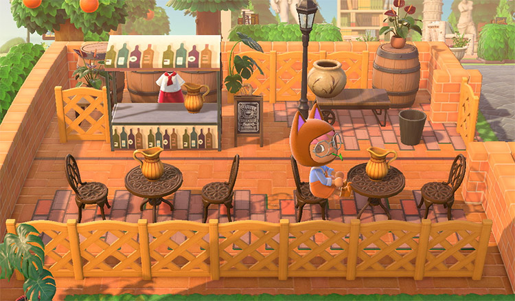 Winery & Vineyard Design Ideas For Animal Crossing: New Horizons –