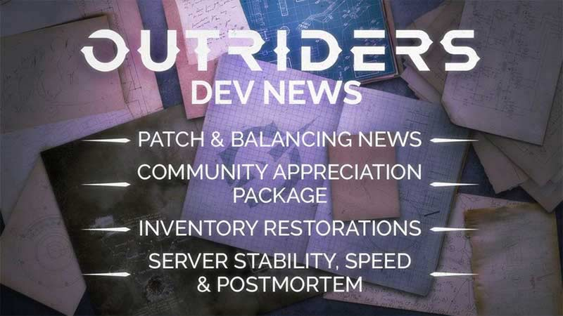 Outriders: Nerfs And Class Balancing List In Patch Notes
