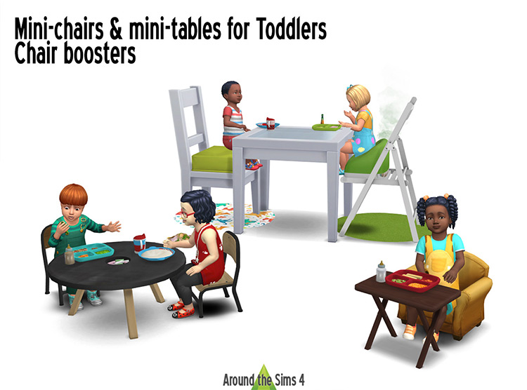 Best Sims 4 Toddler Furniture CC & Mods (All Free) –