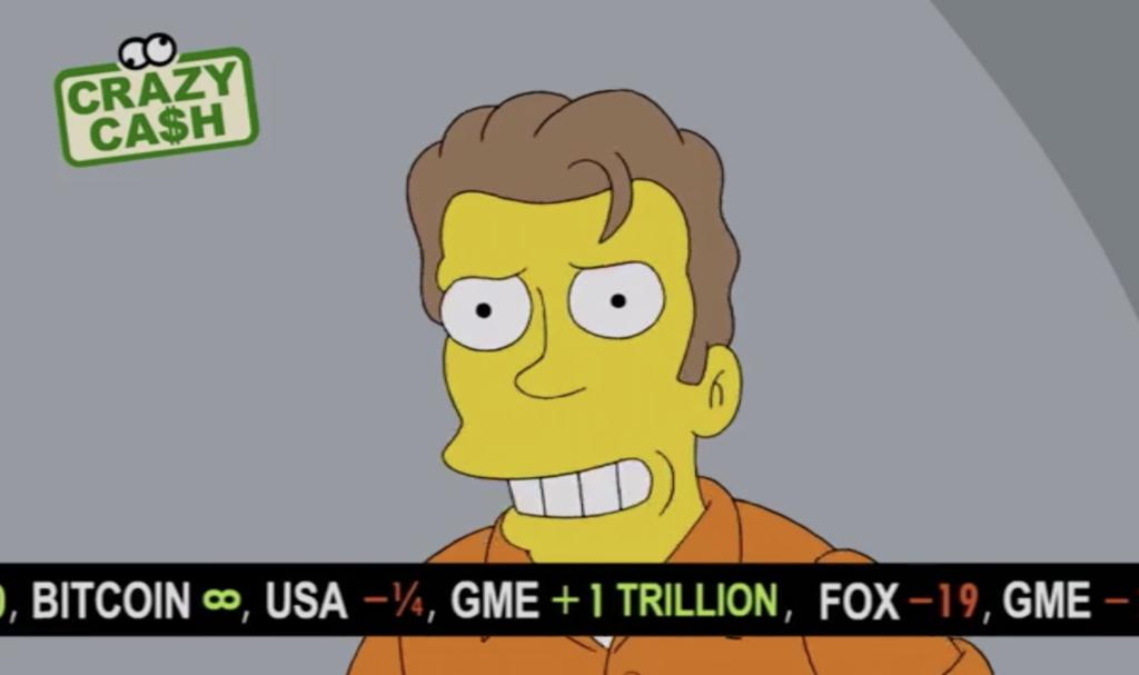 Bitcoin geht auf Unendlich: Simpsons-Folge prognostiziert BTC-Kurs