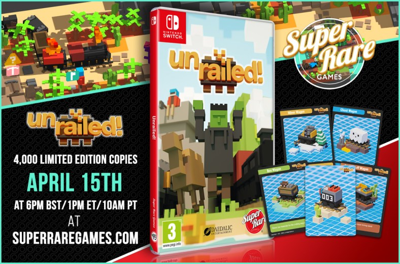 Unrailed! Getting a Limited Edition Physical Release by Super Rare Games