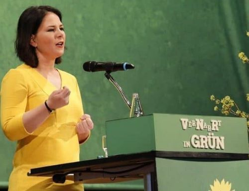 Annalena Baerbock biography, political career, election, husband, net worth